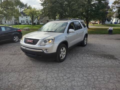 2009 GMC Acadia for sale at Flag Motors in Columbus OH