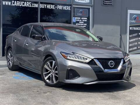 2020 Nissan Maxima for sale at CARUCARS LLC in Miami FL
