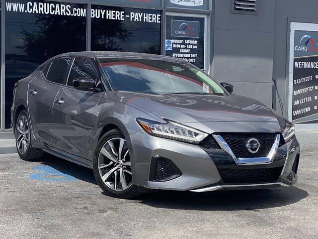 2020 Nissan Maxima for sale at CARUCARS LLC in Miami FL
