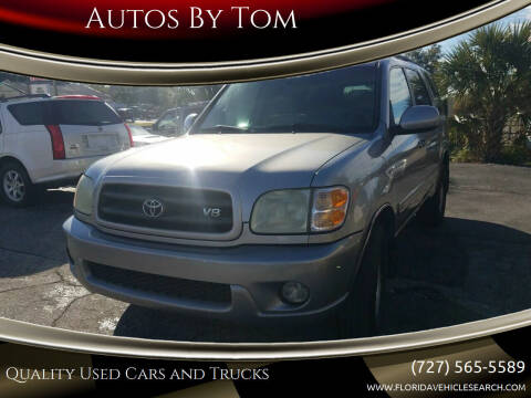 2003 Toyota Sequoia for sale at Autos by Tom in Largo FL