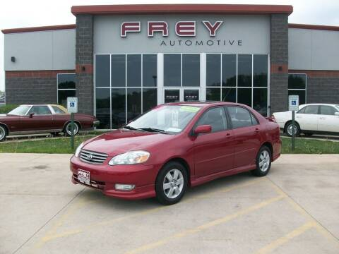 2003 Toyota Corolla for sale at Frey Automotive in Muskego WI