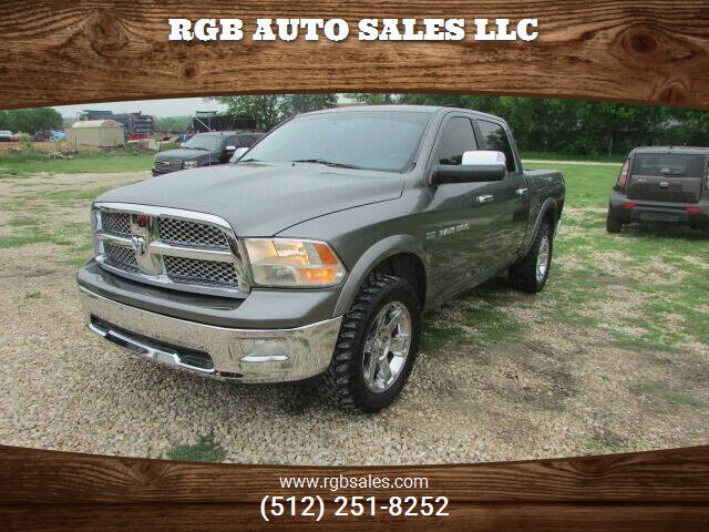 2012 RAM Ram Pickup 1500 for sale at RGB AUTO SALES LLC in Manor TX