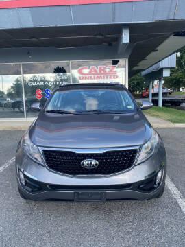 2015 Kia Sportage for sale at Carz Unlimited in Richmond VA