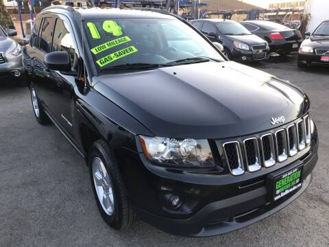2014 Jeep Compass for sale at CAR GENERATION CENTER, INC. in Los Angeles CA