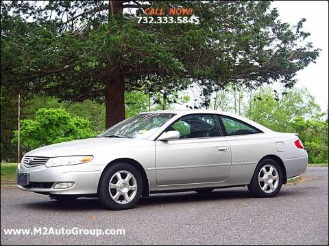 2002 Toyota Camry Solara for sale at M2 Auto Group Llc. EAST BRUNSWICK in East Brunswick NJ