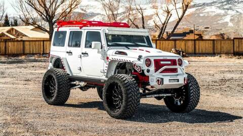 2015 Jeep Wrangler Unlimited for sale at MUSCLE MOTORS AUTO SALES INC in Reno NV