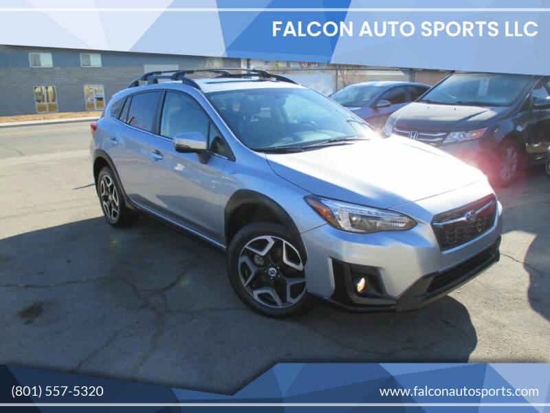 2018 Subaru Crosstrek for sale at Falcon Auto Sports LLC in Murray UT