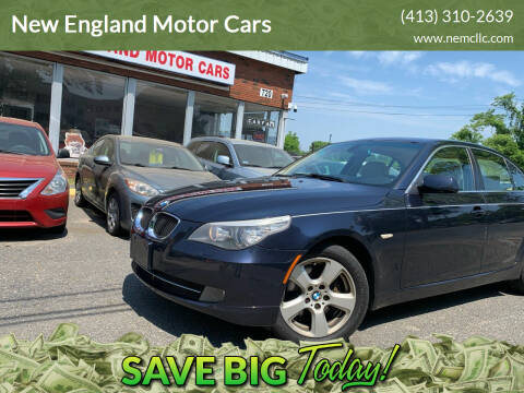 2008 BMW 5 Series for sale at New England Motor Cars in Springfield MA