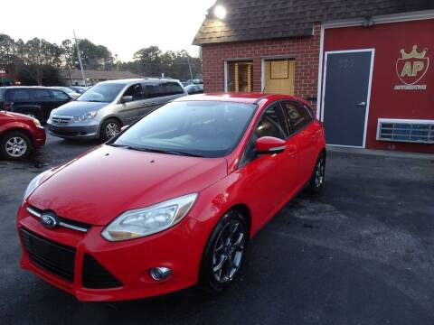 2013 Ford Focus for sale at AP Automotive in Cary NC