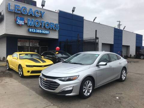 2020 Chevrolet Malibu for sale at Legacy Motors in Detroit MI