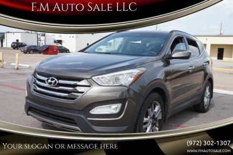 2013 Hyundai Santa Fe Sport for sale at F.M Auto Sale LLC in Dallas TX