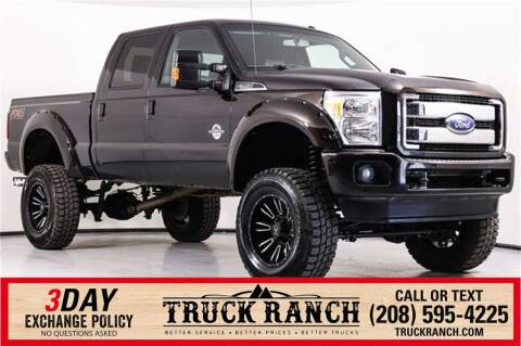 2014 Ford F-350 Super Duty for sale at Truck Ranch in Twin Falls ID
