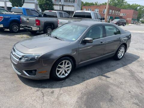 2012 Ford Fusion for sale at East Main Rides in Marion VA