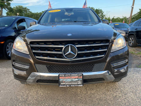 2015 Mercedes-Benz M-Class for sale at Nasa Auto Group LLC in Passaic NJ