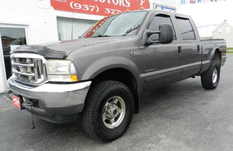 2002 Ford F-250 Super Duty 4dr Crew Cab Lariat 4WD SB - Russellville OH
