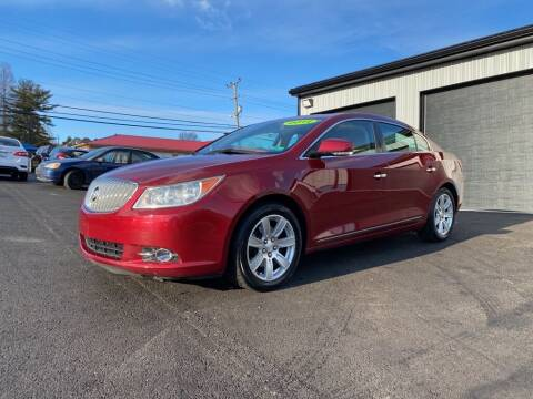 2011 Buick LaCrosse for sale at Sisson Pre-Owned in Uniontown PA