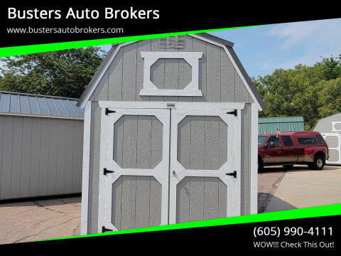 2021 Old Hickory Building 8 X 12 Lofted Barn for sale at Busters Auto Brokers in Mitchell SD