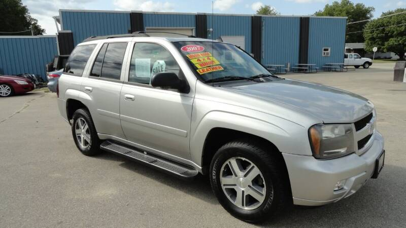 2007 Chevrolet TrailBlazer for sale at CENTER AVENUE AUTO SALES in Brodhead WI