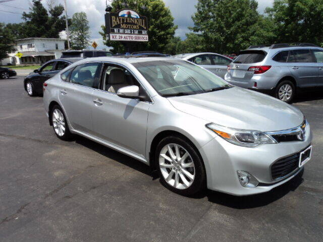 2013 Toyota Avalon for sale at BATTENKILL MOTORS in Greenwich NY