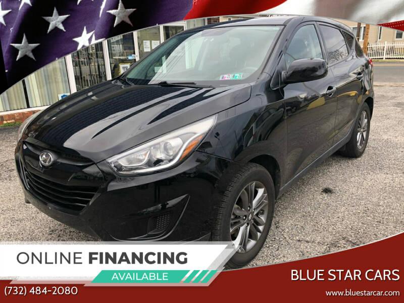 2015 Hyundai Tucson for sale at Blue Star Cars in Jamesburg NJ