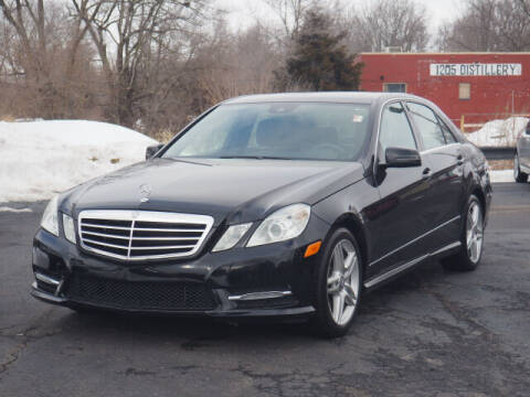 2013 Mercedes-Benz E-Class for sale at Tom Roush Budget Westfield in Westfield IN