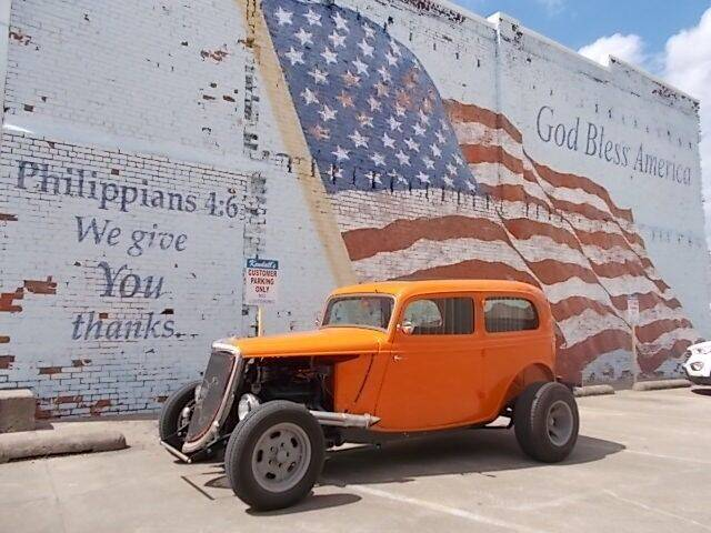 1934 Ford Tudor for sale at LARRY'S CLASSICS in Skiatook OK