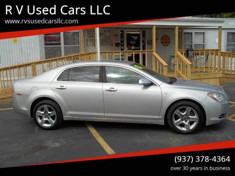2008 Chevrolet Malibu for sale at R V Used Cars LLC in Georgetown OH