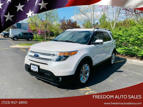 2014 Ford Explorer for sale at Freedom Auto Sales in Chantilly VA