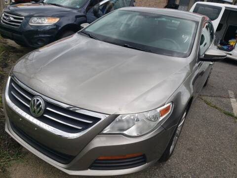 2012 Volkswagen CC for sale at Jimmys Auto INC in Washington DC