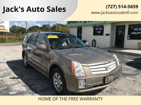 2006 Cadillac SRX for sale at Jack's Auto Sales in Port Richey FL