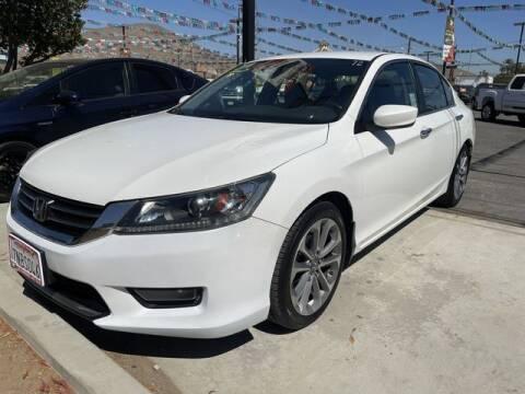 2014 Honda Accord for sale at Los Compadres Auto Sales in Riverside CA