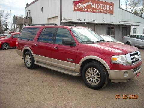2007 Ford Expedition EL for sale at Ron Lowman Motors Minot in Minot ND