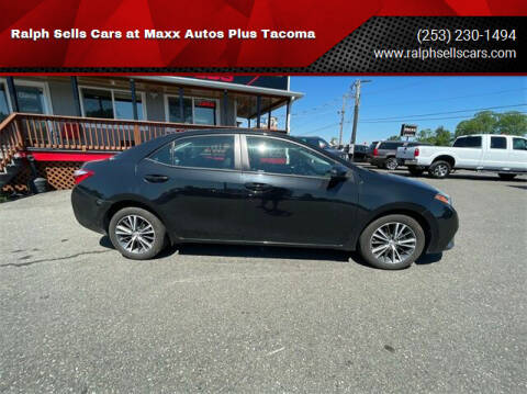 2016 Toyota Corolla for sale at Ralph Sells Cars at Maxx Autos Plus Tacoma in Tacoma WA