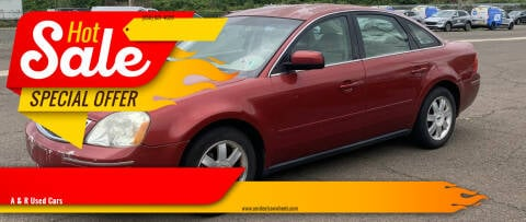 2005 Ford Five Hundred for sale at A & R Used Cars in Clayton NJ