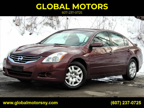 2011 Nissan Altima for sale at GLOBAL MOTORS in Binghamton NY