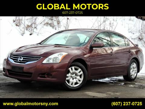 2011 Nissan Altima for sale at GLOBAL MOTORS in Binghamton NY