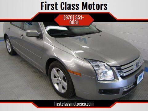 2008 Ford Fusion for sale at First Class Motors in Greeley CO