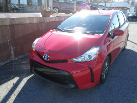 2017 Toyota Prius v for sale at WORKMAN AUTO INC in Pleasant Gap PA