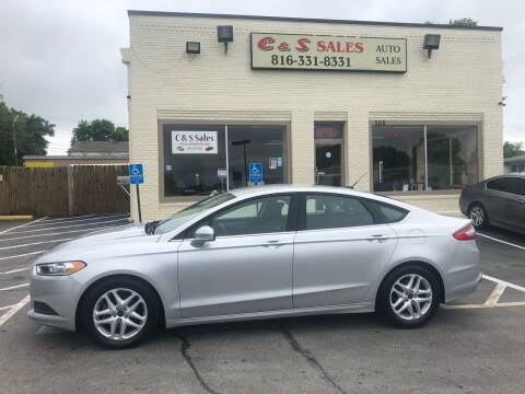 2015 Ford Fusion for sale at C & S SALES in Belton MO