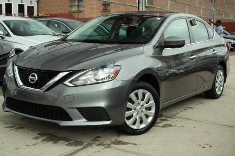 2017 Nissan Sentra for sale at HILLSIDE AUTO MALL INC in Jamaica NY