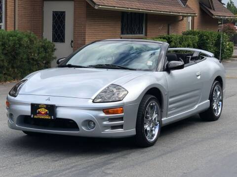 2003 Mitsubishi Eclipse Spyder for sale at West Coast Auto Works in Edmonds WA