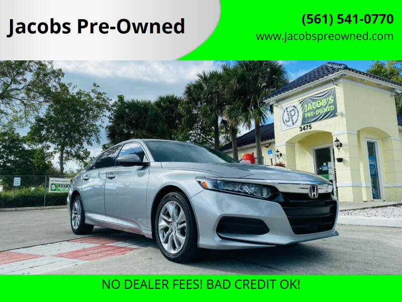 2018 Honda Accord for sale at Jacobs Pre-Owned in Lake Worth FL
