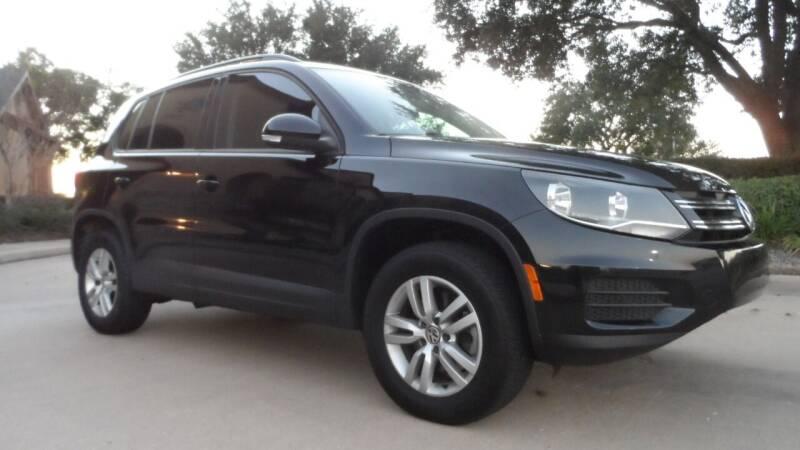 2016 Volkswagen Tiguan for sale at Exhibit Sport Motors in Houston TX