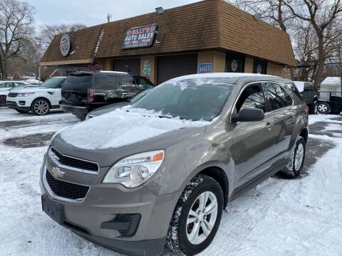 2010 Chevrolet Equinox for sale at Billy Auto Sales in Redford MI