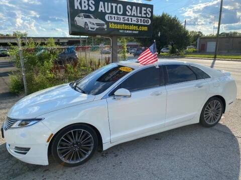 2013 Lincoln MKZ for sale at KBS Auto Sales in Cincinnati OH