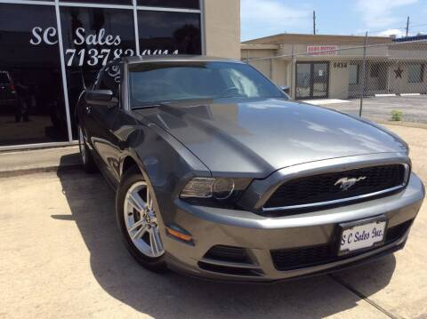 2014 Ford Mustang for sale at SC SALES INC in Houston TX
