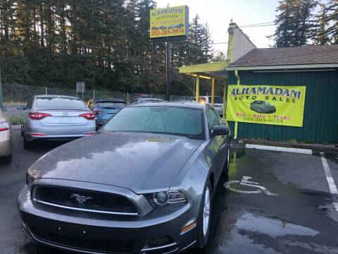 2013 Ford Mustang for sale at ALHAMADANI AUTO SALES in Spanaway WA
