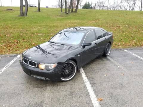 2005 BMW 7 Series for sale at FAYAD AUTOMOTIVE GROUP in Pittsburgh PA