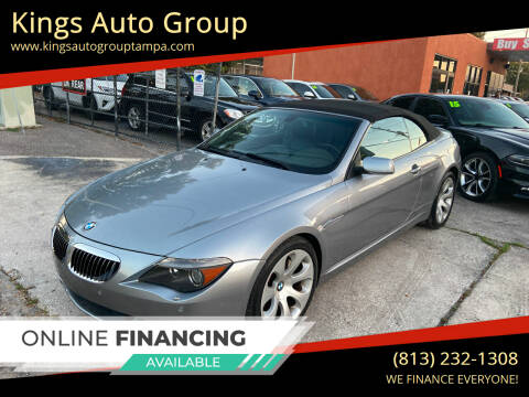 2004 BMW 6 Series for sale at Kings Auto Group in Tampa FL