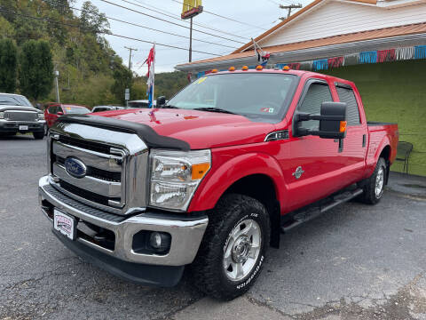 2014 Ford F-250 Super Duty for sale at PIONEER USED AUTOS & RV SALES in Lavalette WV